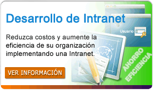servicio desarrollo de intranet corporativa